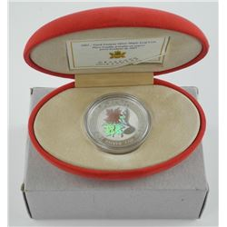 .9999 Fine Silver Maple Leaf Coin 'Good Fortune' H