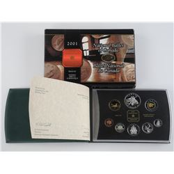 2001 RCM Proof Coin Set 'National Ballet, Special'