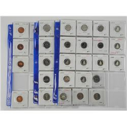 Lot of (51) Canada Coins - Dealer Store Inventory.