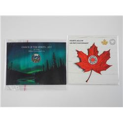 Lot (2) - Royal Canadian Mint 'Glow in the Dark' C