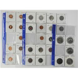 Lot (33) Canada Coins - Dealer Store Inventory.