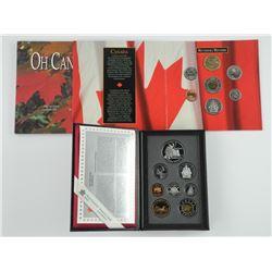 Lot (2) 1997 Proof Coin Set/Silver and OH Canada U