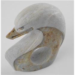"""Original Stone Sculpture. """"Eagle"""" By Bud Henry."""