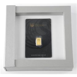 Perth Mint - .9999 Fine Pure Gold Bar with Serial