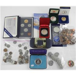 Estate lot - Mixed Coins, Mint Sets, USA, CAN, Spe