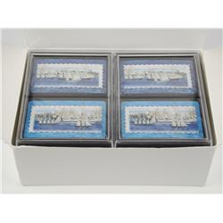 Lot (6) Double Deck 'Tall Ships' Playing Cards Can