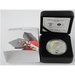 925 Sterling Silver $25.00 Coin Olympic Games 'Ske