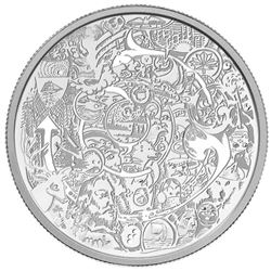 2014 $30 Canadian Contemporary Art - Pure Silver C