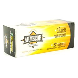 ARMSCOR 22LR HVHP 36GR - 500 Rounds