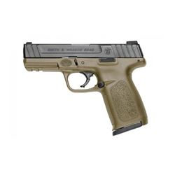 "S& W SD40 40SW 14RD 4"" FDE FS 2MAGS"