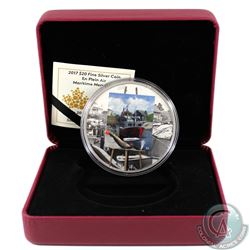 2017 Canada $20 En Plein Air - Maritime Memories Silver (TAX Exempt). Coin comes encapsulated with C