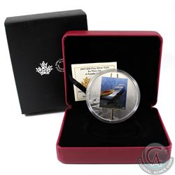 2017 Canada $20 En Plein Air - A Paddle Awaits Fine Silver (TAX Exempt). Coin comes with all origina
