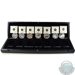Complete 2012-2013 Canada $20 Group Of Seven 7-Coin Set in original Wooden Display (Tax Exempt). You