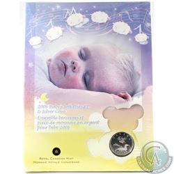 2006 Canada Baby Lullabies Loonie Silver Dollar with Music CD. **STILL SEALED**