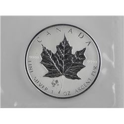 .9999 Fine Silver $5.00 Maple Leaf - 'Rooster Priv