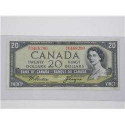 Bank of Canada 1954 $20.00 M.P.