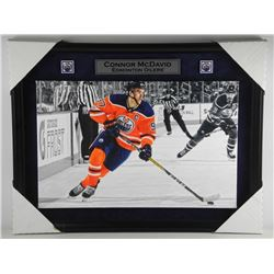 'Connor McDavid' Canvas Museum Mounted and Framed