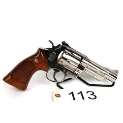 PROHIBITED. Chrome Plated Smith Hand Cannon