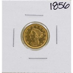 1856 $2 1/2 Liberty Head Quarter Eagle Gold Coin