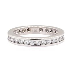 14KT White Gold 0.90 ctw Diamond Eternity Band