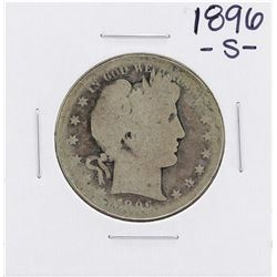 1896-S Barber Half Dollar Coin