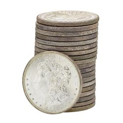 Roll of (20) 1881-S $1 Brilliant Uncirculated Morgan Silver Dollar Coins