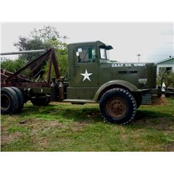1941 FWD UNITED STATES AIRFORCE RECOVERY VEHICLE