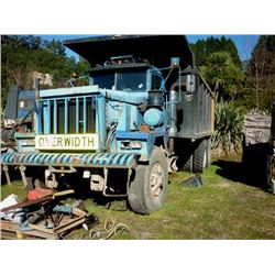 1991 PACIFIC 6X4 50 TONNE TIPPER