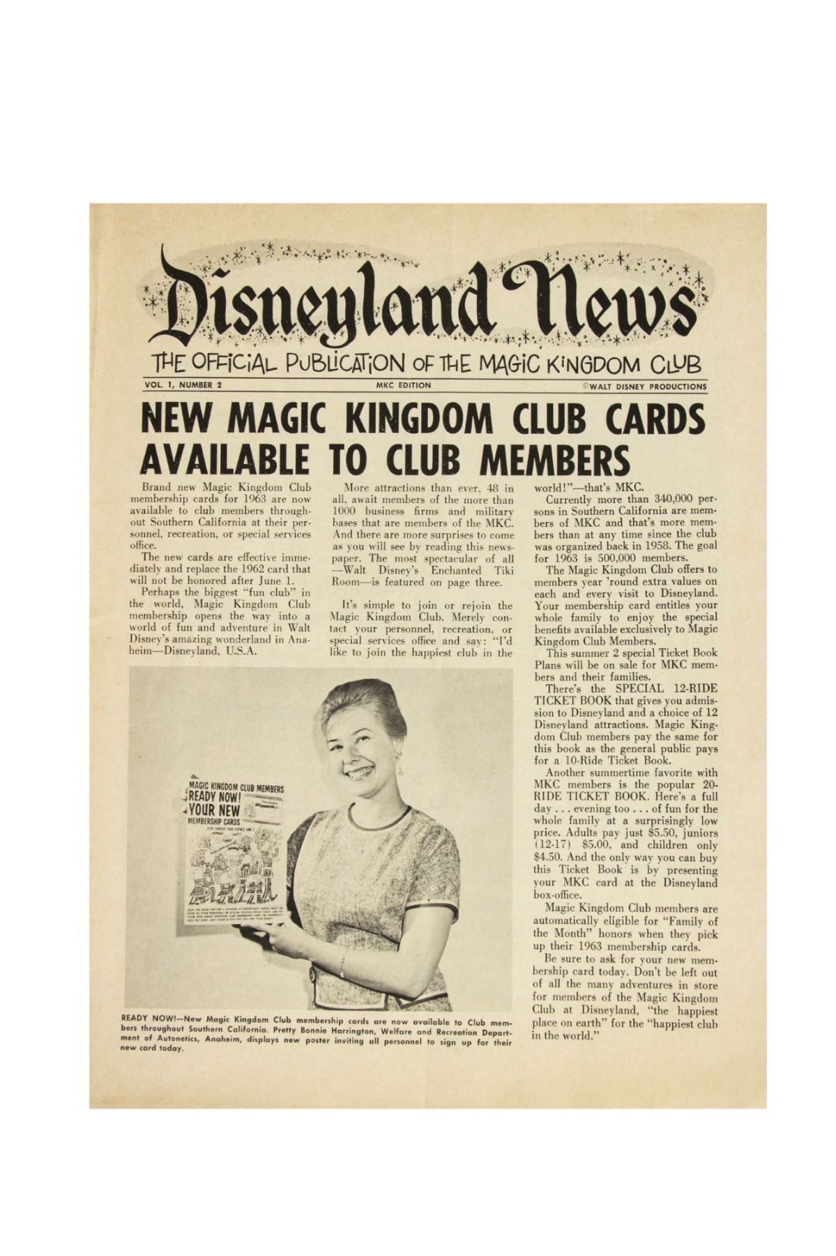 Collection of 6 issues of disneyland news image 3 collection of 6 issues of disneyland news publicscrutiny Choice Image
