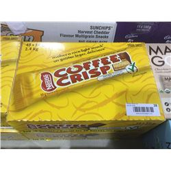 Case 48x50g coffee crisp chocolate bars