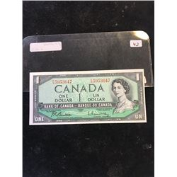 1954 BANK OF CANADA $1 NOTE..F/N PREFIX
