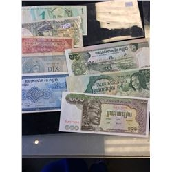 WORLD BANKNOTE LOT OF 8 NOTES!