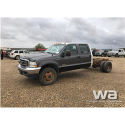 2004 FORD F350 CAB & CHASSIS