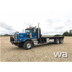 2002 KENWORTH C500B T/A BED TRUCK