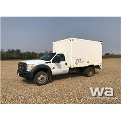 2011 FORD F450 S/A STEAM TRUCK