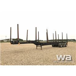 2006 SUPERIOR TRIDEM LOG TRAILER