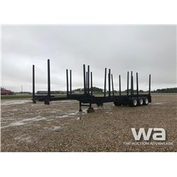 1995 SUPERIOR TRIDEM LOG TRAILER