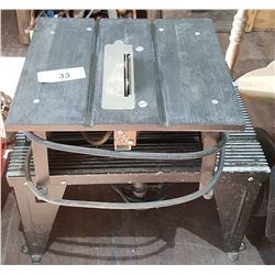 "TWO PC LOT-4"" TABLE SAW & CRAFTSMAN ROUTER"