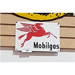 MOBIL GAS PORCELAIN SIGN REPRODUCTION