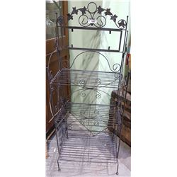 WROUGHT IRON KITCHEN STAND