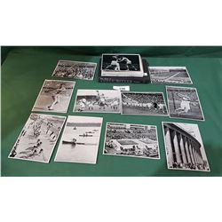 ORIGINAL 1936 OLYMPICS NAZI SOUVENIR PHOTO PACK & ADOLPH HITLER BOOK