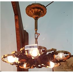 ART DECO PAN CHANDELIER