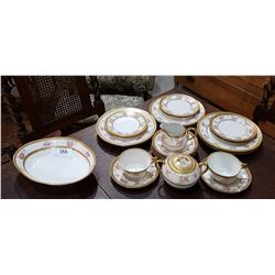 APPROX 23 PC SET LIMOGES CHINA