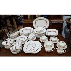 APPROX 70 PC SET SPODE ROSE BRIAR CHINA