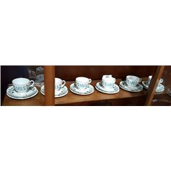 SHELF LOT APPROX  18 PCS WEDGWOOD CHINA