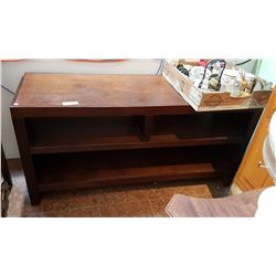 MAHOGANY ENTERTAINMENT STAND