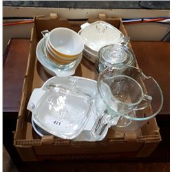 BOX LOT COLLECTIBE PYREX
