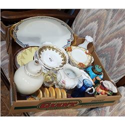 BOX LOT COLLECTIBLE CHINA
