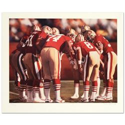 The Huddle I (49ers & (Steve Young) by Smith, Daniel M.