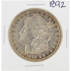 1892 $1 Morgan Silver Dollar Coin